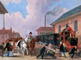 1845 - The royal mail travelling by train
