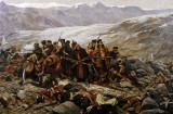 February 1842 - Last Stand of the British at Gundamuck, Afganistan
