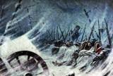 1812 - Night bivouac of Napoleon's army