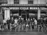 c. 1913 - Cyclists