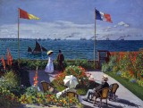 1867 - Terrace at Sainte-Adresse