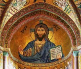 Before 1170 - Christ Pantocrator-Cathedral of Cefalu