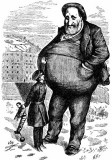 Boss Tweed is beyond the reach of the law