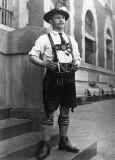 c. 1900 - New arrival on Ellis Island