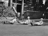 September 15, 1922 - Scooting on skates