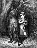 1862 - Little Red Riding Hood illustration