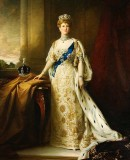 1912 - Coronation portrait of Queen Mary of Teck