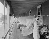 c. 1918 - Walter Reed Hospital Flu Ward