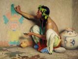1917 - The Kachina Painter