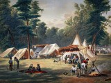 Confederate encampment