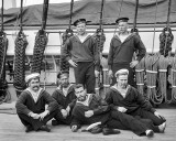 1893 - Russian sailors on a visit