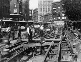 1891 - Constructing cable tracks