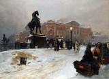 1859 - Anichkov Bridge on Nevsky Prospect