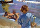 1916 - Children on the Beach