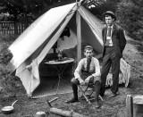 c. 1905 - Camping