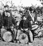 March 1863 - Drummers recruited primarily in New York City