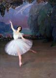 1910 - Tamara Karsavina in Les Sylphides