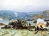 15 June 1877 - Russians Crossing the Danube