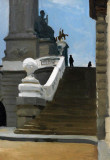 1906 - Two Figures at Top of Steps