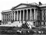 1860 - Treasury Building under construction
