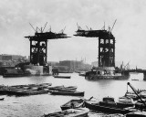 1889 - Tower Bridge under construction