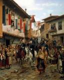 1877 - Grand Prince Nikolai Nikolaevich enters Trnovo