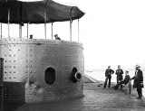 July 9, 1862 - Deck and turret of the ironclad USS Monitor