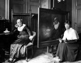 1917 - Dutch Wilhelmina Drucker, pioneer for women's rights