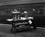 Refreshment trolley, Paddington Station