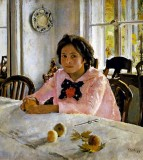 1887 - Girl with Peaches