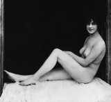c. 1912 - Sitting in a window