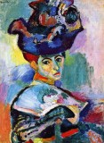 1905 - Woman with a hat