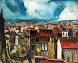 1911 - The Roofs of Paris