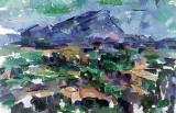 1906 - Mont Sainte-Victoire