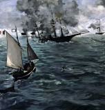 June 1864 - Battle of the Kearsarge and the Alabama