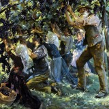 1901 - Wine Harvest in the Tyrol