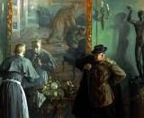 1917 - Kerensky disguised as a nun