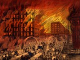 1871 - Chicago in Flames