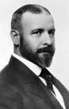 c. 1895 - Architect Louis Sullivan of the Chicago School