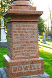Tombstone of Sir Mackenzie Bowell