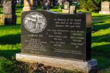 Memorial to children who passed away at Institution for Deaf and Dumb