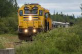 Polar Bear Express arriving in Moosonee 2017 August 6th