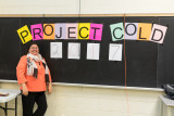 Pauline Sackaney organized Project Cold distribution of donated winter clothing