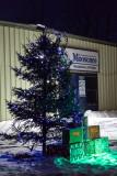 Town of Moosonee Christmas decorations