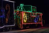 Ontario Northland Railway Christmas Train in Moosonee