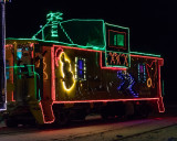 Christmas Train Caboose