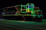 GP38-2 1809 at the head of the Christmas Train
