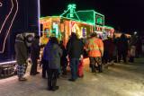 Christmas Train in Moosonee