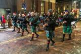 Santa Claus Parade Belleville Ontario 2018 November 18 - bagpipers