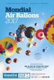 Affiche officielle du Mondial Air Ballons 2017
